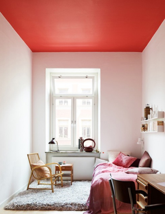 crushing on painted ceilings almost makes perfect