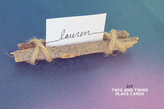 Diy Twig And Twine Place Cards Almost Makes Perfect