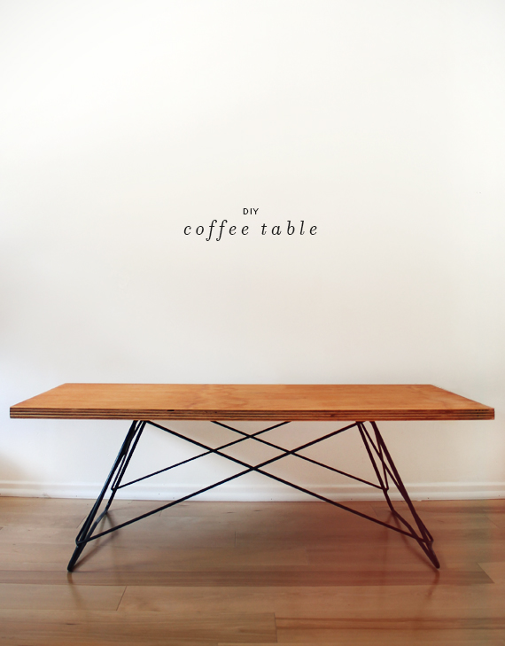 diy metal base coffee table almost makes perfect