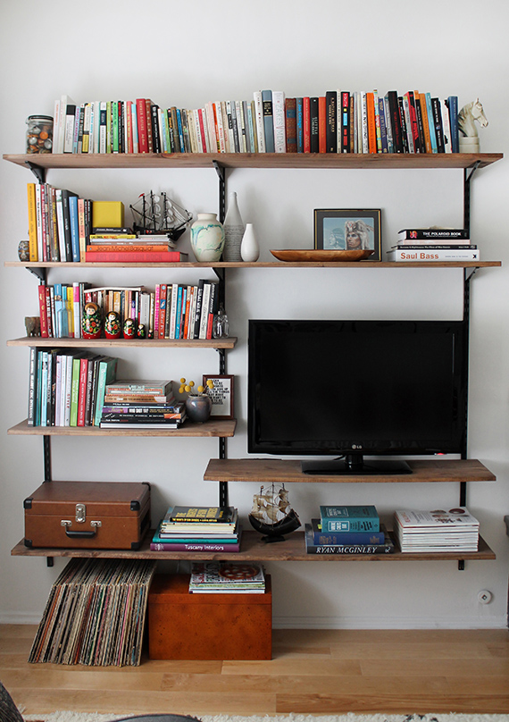 wall mounted shelving - Wall Mounted Bookcase
