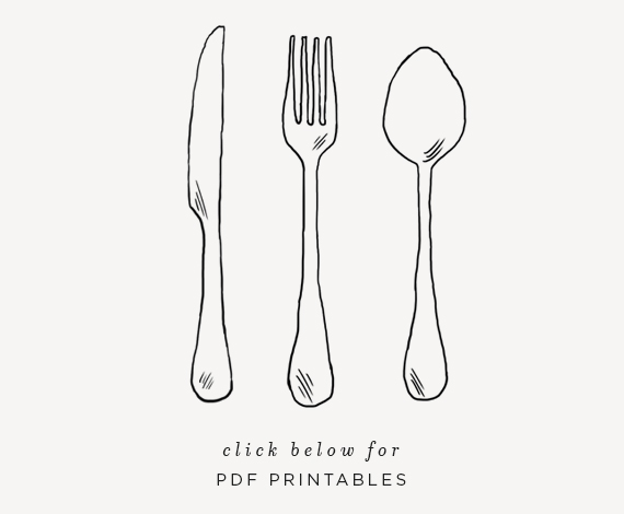picture regarding Printable Knife Templates known as do-it-yourself plasticware picnic baggage (with totally free printable!) - approximately