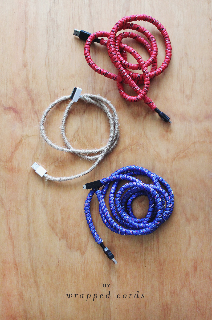 diy cord makeover