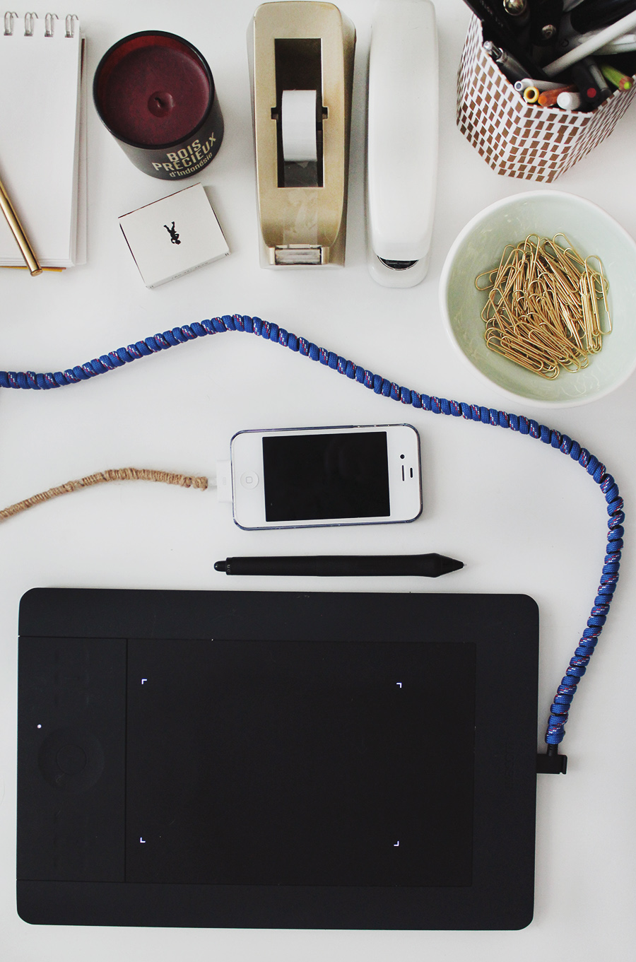 diy cord makeover via almost makes perfect