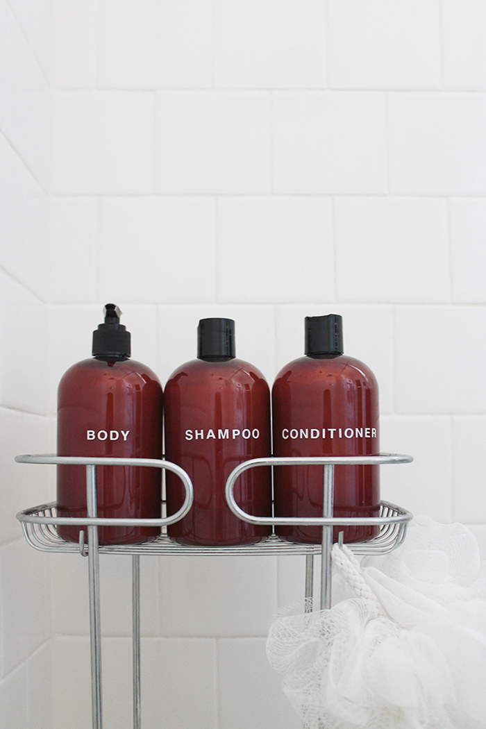 diy shampoo bottles