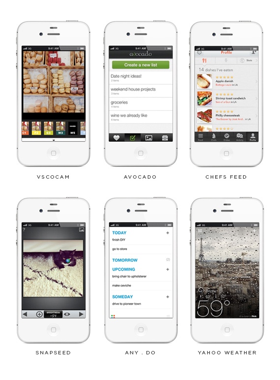 favorite iphone apps // almost makes perfect