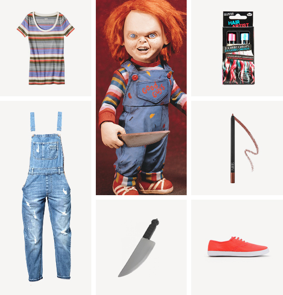 chucky costume / almost makes perfect  sc 1 st  Almost Makes Perfect & diy halloween costumes / pt 3 - almost makes perfect