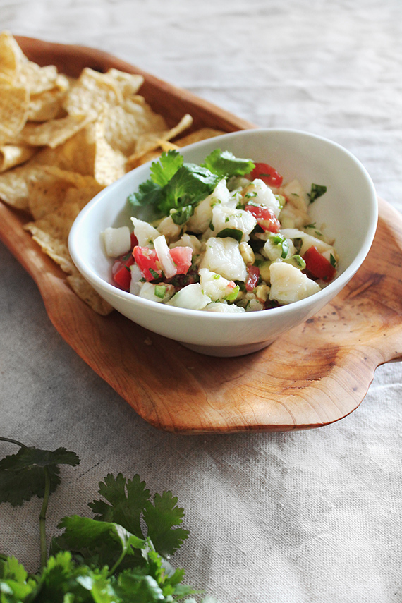 simple ceviche -- almost makes perfect