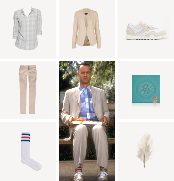 forrest gump costume / almost makes perfect