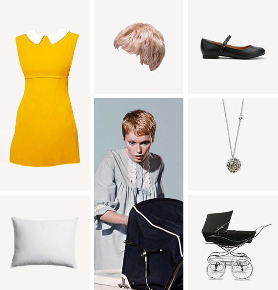 rosemarys baby costume / almost makes perfect