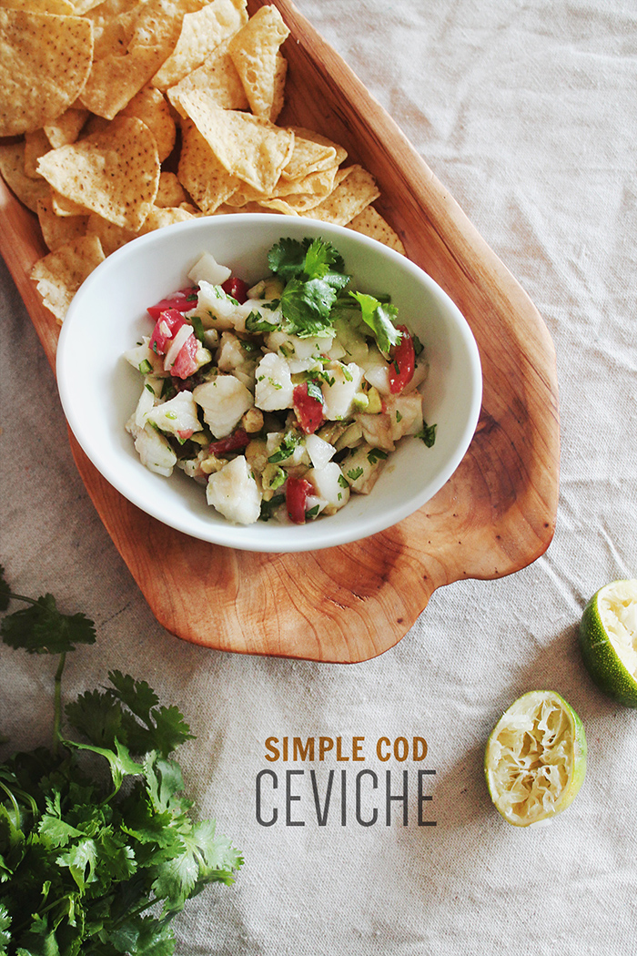 simple ceviche - almost makes perfect