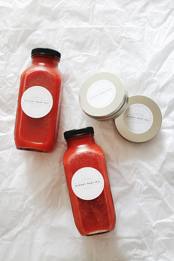 diy bloody mary mix gift set