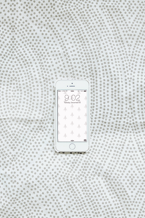 free holiday iphone wallpaper - almost makes perfect