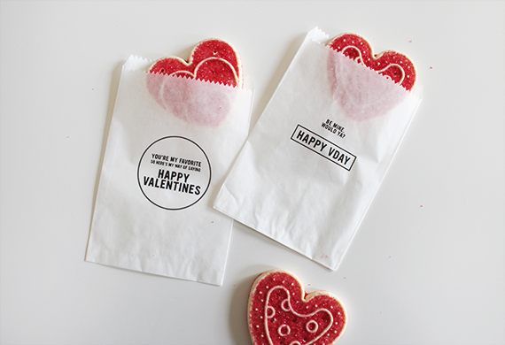 free printable valentines treat bags