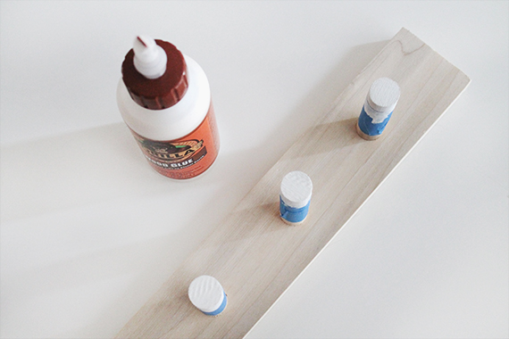 diy dowel coat rack