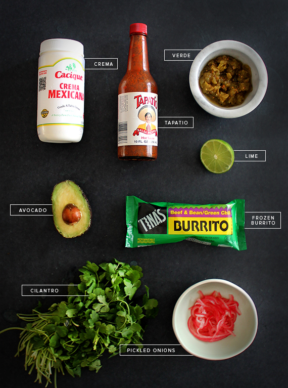 how to dress up a frozen burrito | almost makes perfect