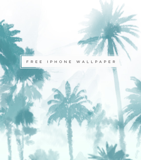free iphone wallpaper | palm trees