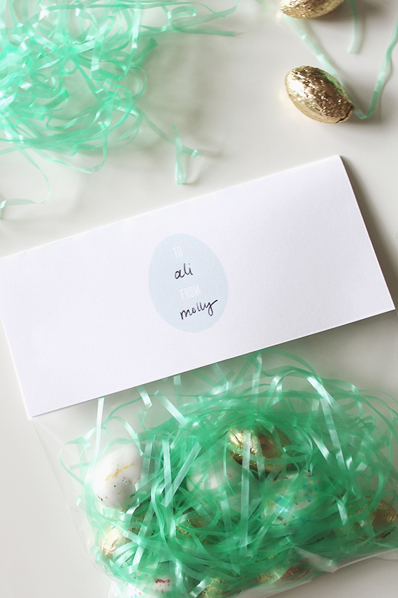 free printable easter treat bag toppers | almost makes perfect