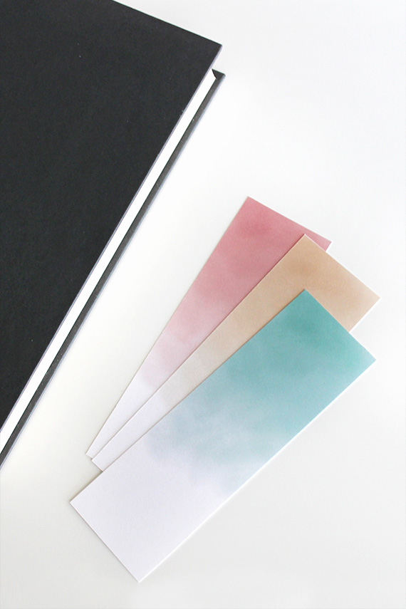free printable watercolor bookmarks | almost makes perfect
