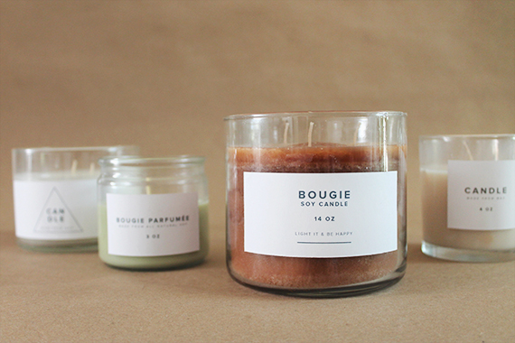 diy drug store candle makeover via almost makes perfect