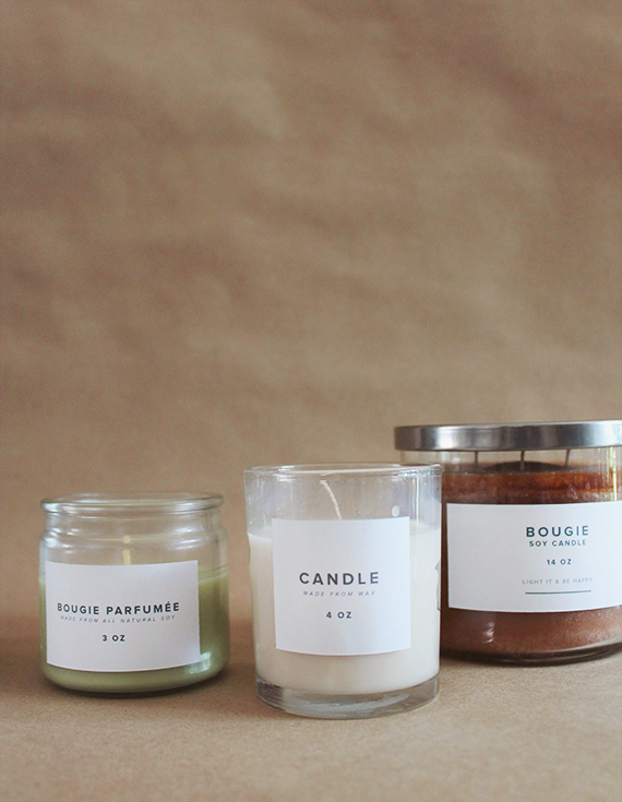 diy drug store candles makeover