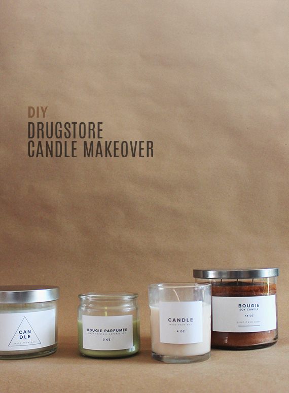 diy drugstore candle makeover | almost makes perfect