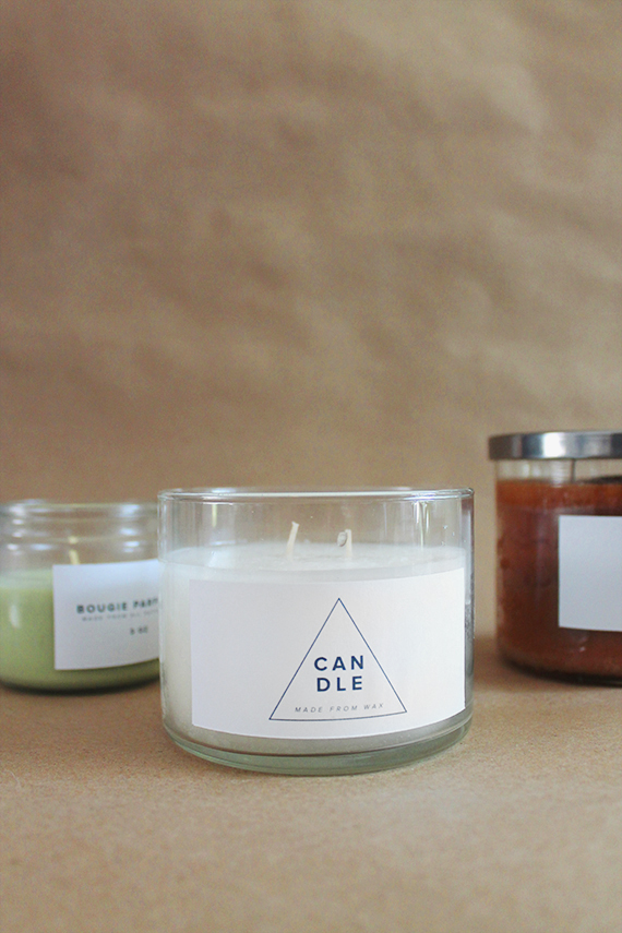 diy drugstore candles makeover | almost makes perfect