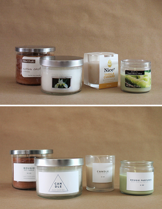drugstore candle makeover | almost makes perfect
