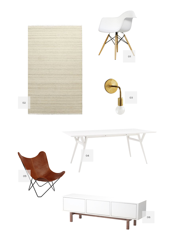 wanting / home items