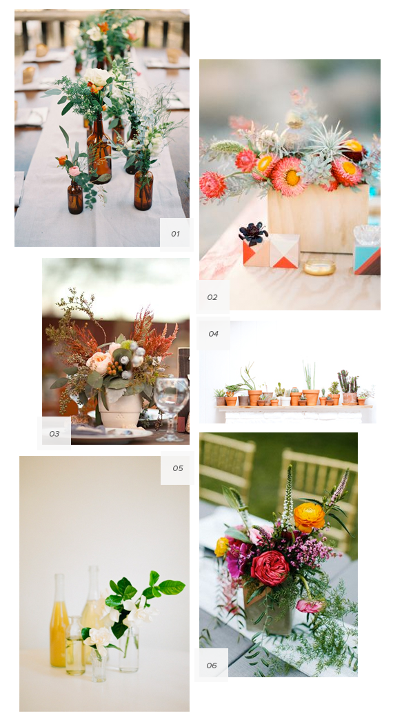 modern wedding florals | almost makes perfect