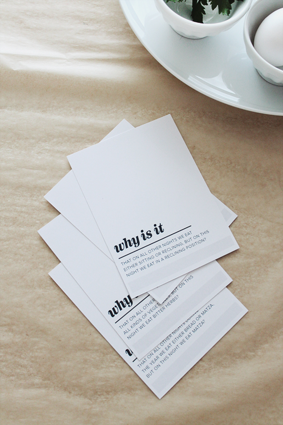 passover printable four questions | almost makes perfect