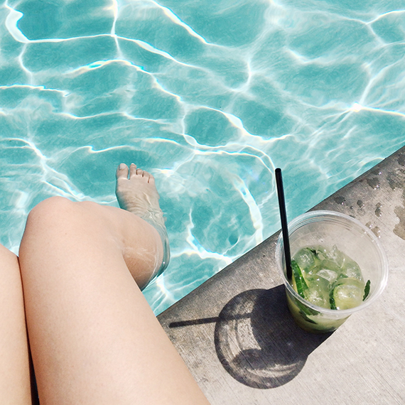 poolside at the ace palm springs