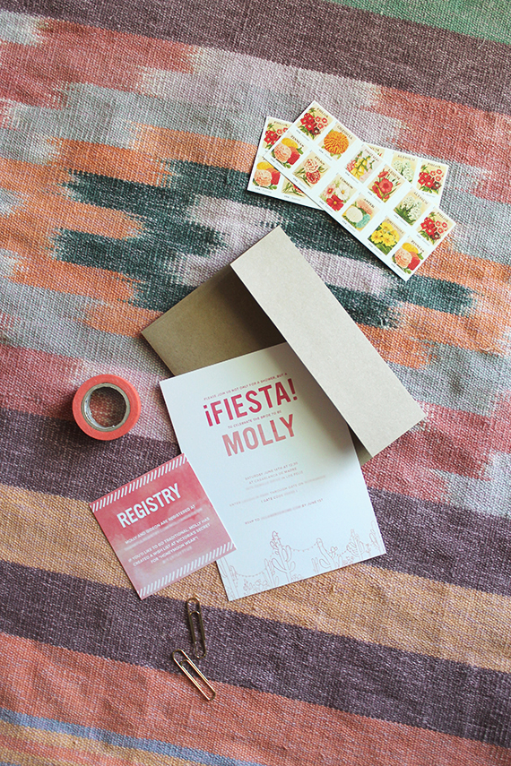 fiesta shower invites | almost makes perfect