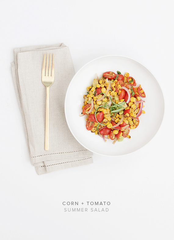 corn + tomato summer salad | almost makes perfect