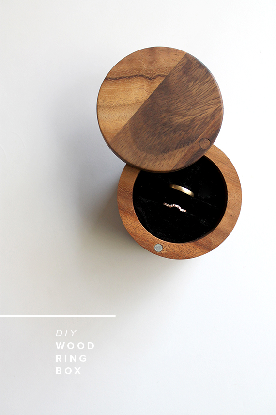 diy ring box | almost makes perfect