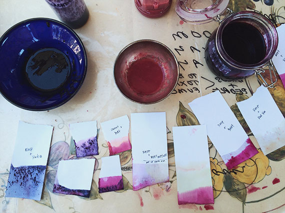 natural dyes  | almost makes perfect