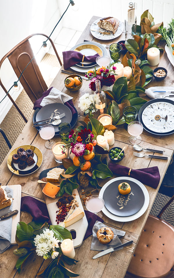 thanksgiving table inspo  | almost makes perfect