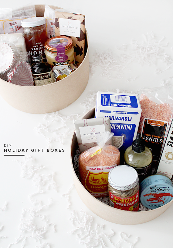diy holiday gift boxes | almost makes perfect
