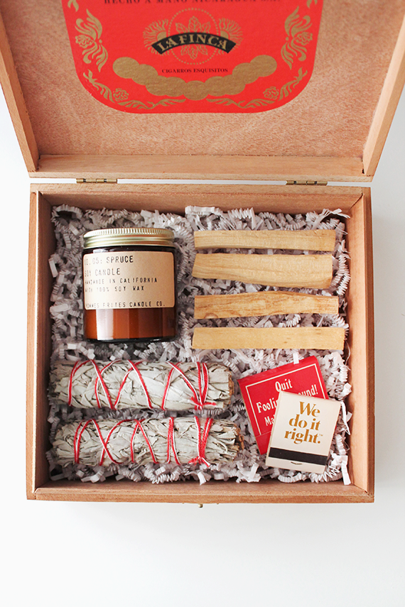 diy scent gift box | almost makes perfect