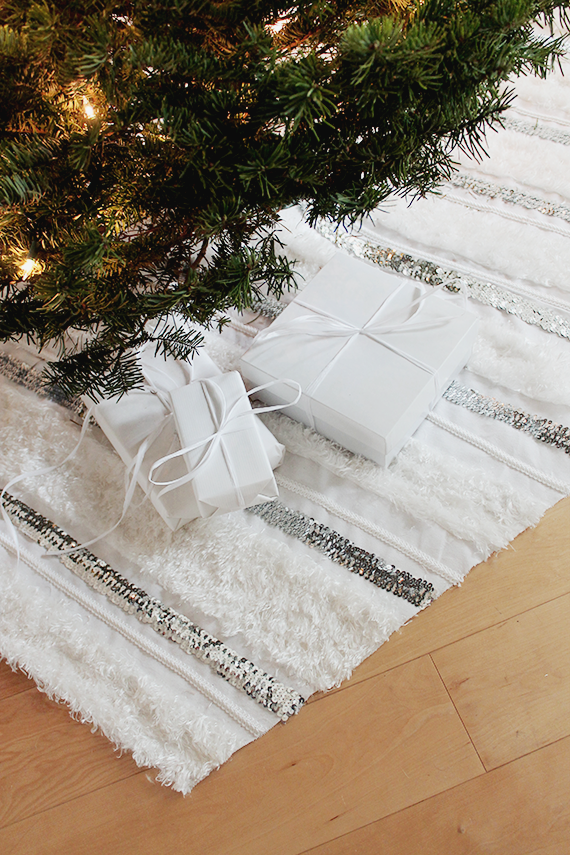 no-sew moroccan wedding tree skirt   almost makes perfect