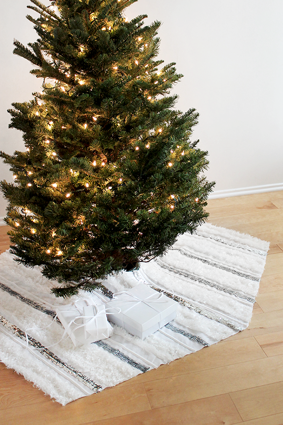 no-sew moroccan wedding tree skirt | almost makes perfect