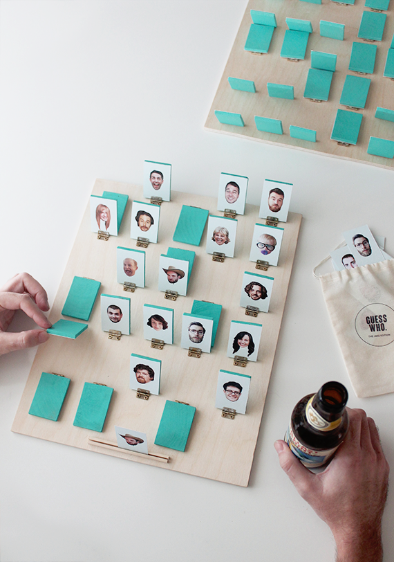 diy guess who board game | almost makes perfect