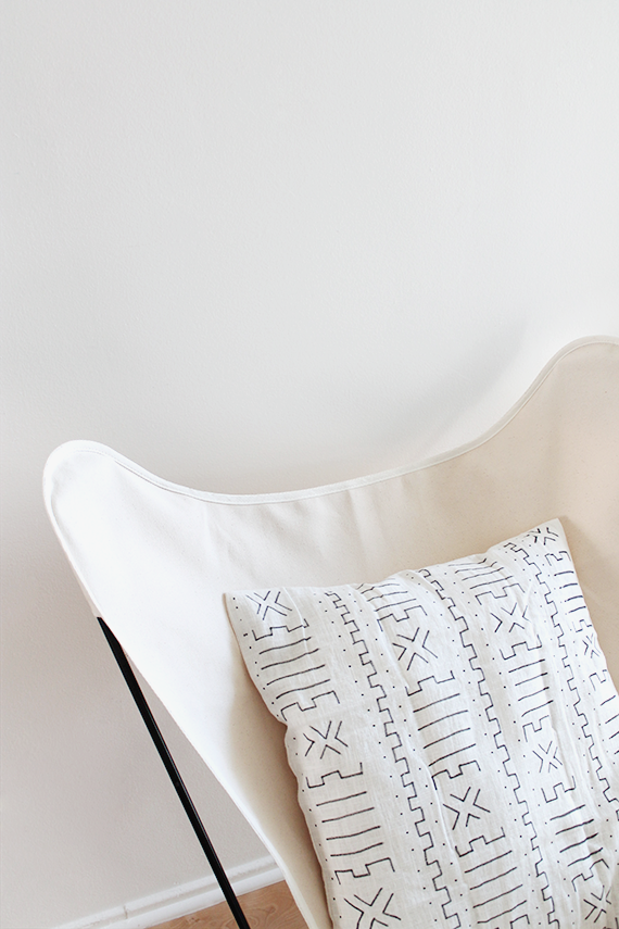 diy mudcloth pillow  | almost makes perfect