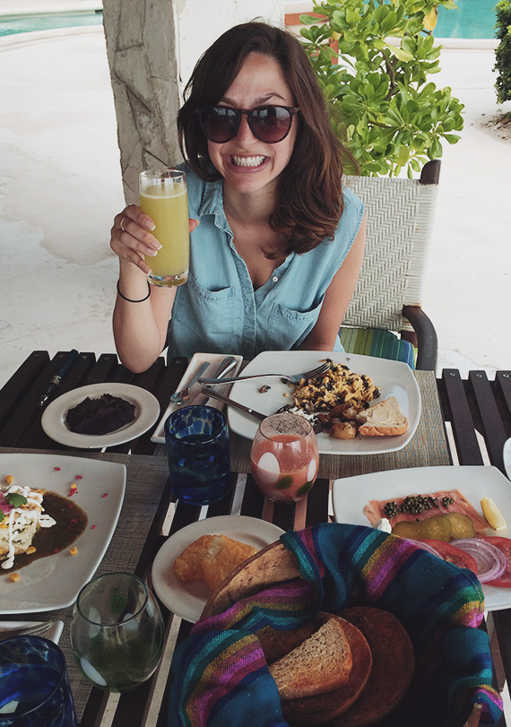 our honeymoon in mexico   almost makes perfect