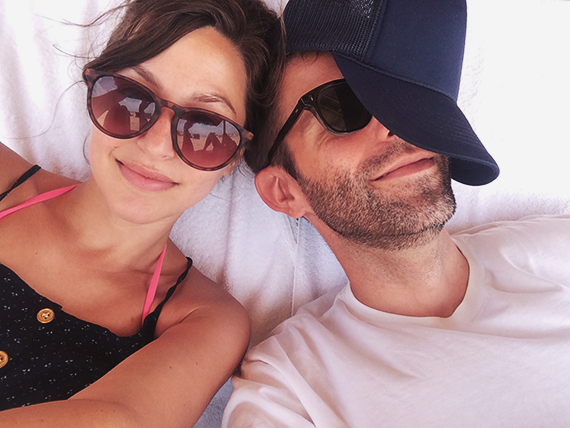 our honeymoon in mexico
