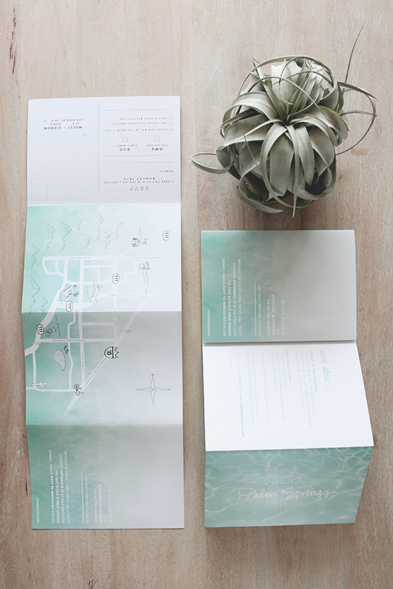 our wedding invites | almost makes perfect