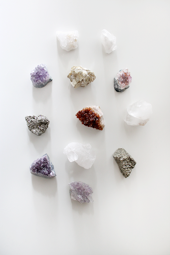 diy crystal magnets | almost makes perfect