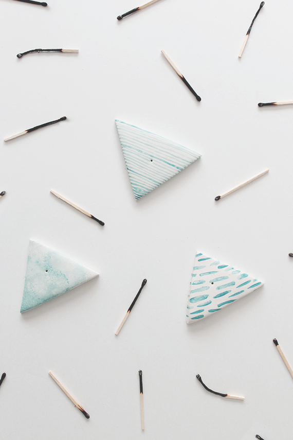 diy incense holders     almost makes perfect