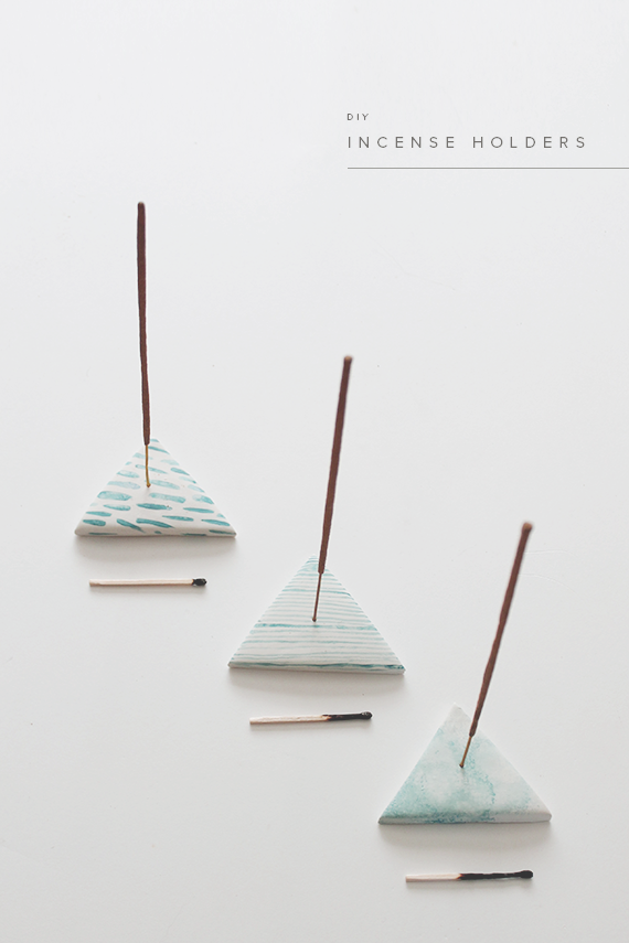 diy incense holders | almost makes perfect