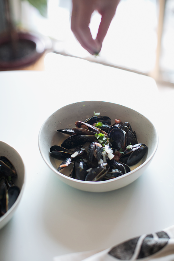 moshup mussels | almost makes perfect