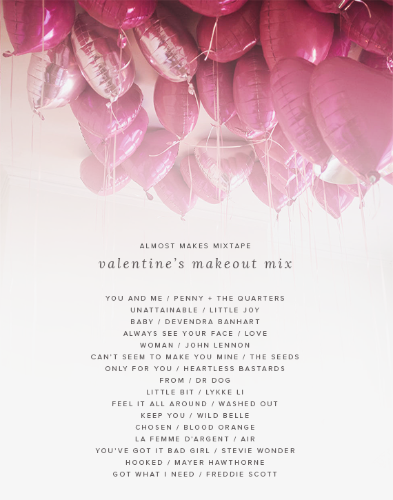 valentines makeout mix 2015   almost makes perfect